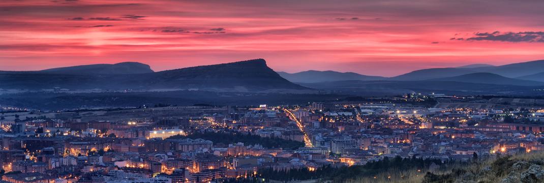 Vista panorámica Soria Foto Javier Arribas